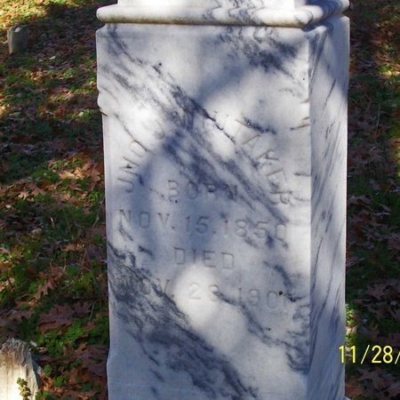 WHITAKER, JOHN J. (CLOSE UP) - Lincoln County, Tennessee | JOHN J. (CLOSE UP) WHITAKER - Tennessee Gravestone Photos