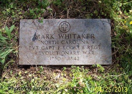 WHITAKER (VETERAN REV), MARK - Lincoln County, Tennessee   MARK WHITAKER (VETERAN REV) - Tennessee Gravestone Photos