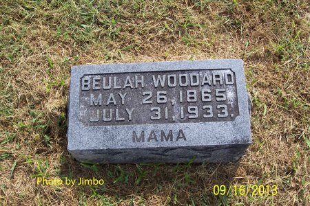 WOODARD, BEULAH - Lincoln County, Tennessee | BEULAH WOODARD - Tennessee Gravestone Photos