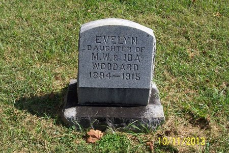 WOODARD, EVELYN - Lincoln County, Tennessee | EVELYN WOODARD - Tennessee Gravestone Photos