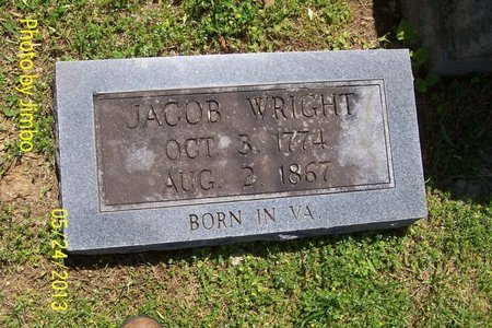 WRIGHT, JACOB - Lincoln County, Tennessee | JACOB WRIGHT - Tennessee Gravestone Photos