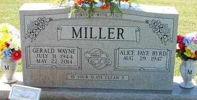 MILLER, GERALD WAYNE - Loudon County, Tennessee | GERALD WAYNE MILLER - Tennessee Gravestone Photos