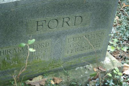 FORD, LADY MINNIE - Macon County, Tennessee | LADY MINNIE FORD - Tennessee Gravestone Photos