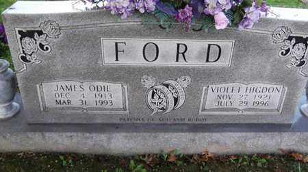 FORD, JAMES ODIE - Macon County, Tennessee | JAMES ODIE FORD - Tennessee Gravestone Photos