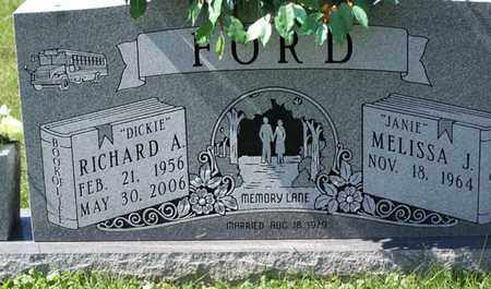 """FORD, RICHARD A. """"DICKIE"""" - Macon County, Tennessee 