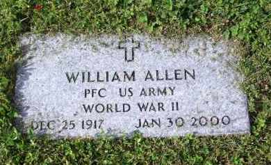 ALLEN (VETERAN WWII), WILLIAM - Madison County, Tennessee | WILLIAM ALLEN (VETERAN WWII) - Tennessee Gravestone Photos