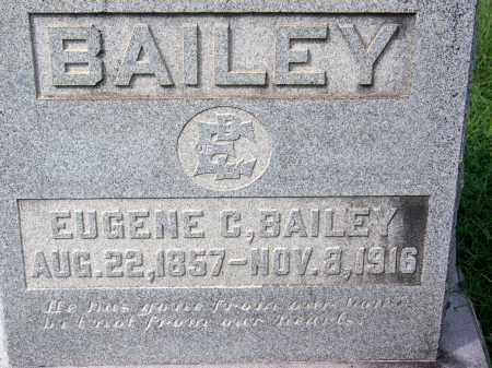 BAILEY, EUGENE C - Madison County, Tennessee | EUGENE C BAILEY - Tennessee Gravestone Photos