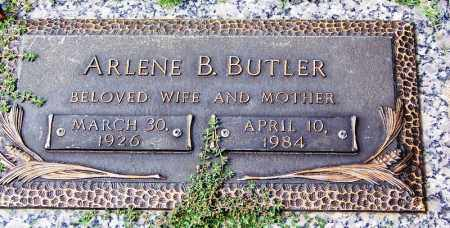 BUTLER, ARLENE B - Madison County, Tennessee | ARLENE B BUTLER - Tennessee Gravestone Photos