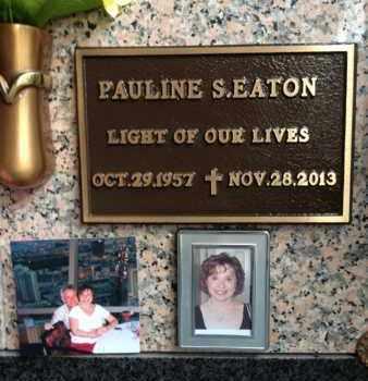 EATON, PAULINE S. - Madison County, Tennessee | PAULINE S. EATON - Tennessee Gravestone Photos