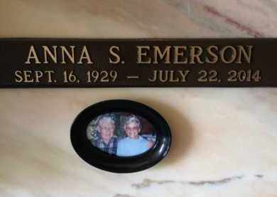BRINKLEY EMERSON, ANNA S. - Madison County, Tennessee | ANNA S. BRINKLEY EMERSON - Tennessee Gravestone Photos
