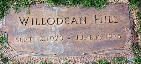 HILL, WILLODEAN - Madison County, Tennessee | WILLODEAN HILL - Tennessee Gravestone Photos