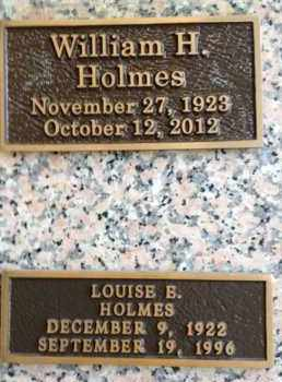 HOLMES, LOUISE B. - Madison County, Tennessee | LOUISE B. HOLMES - Tennessee Gravestone Photos