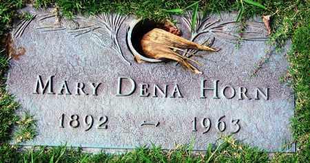 HORN, MARY DENA - Madison County, Tennessee | MARY DENA HORN - Tennessee Gravestone Photos