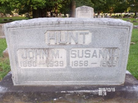 HUNT, JOHN M - Madison County, Tennessee | JOHN M HUNT - Tennessee Gravestone Photos