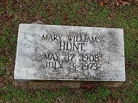 HUNT, MARY - Madison County, Tennessee | MARY HUNT - Tennessee Gravestone Photos