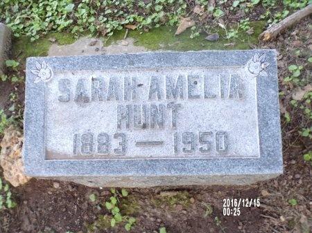 HUNT, SARAH AMELIA - Madison County, Tennessee | SARAH AMELIA HUNT - Tennessee Gravestone Photos