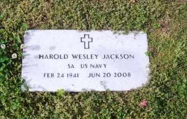 JACKSON (VETERAN), HAROLD WESLEY - Madison County, Tennessee | HAROLD WESLEY JACKSON (VETERAN) - Tennessee Gravestone Photos