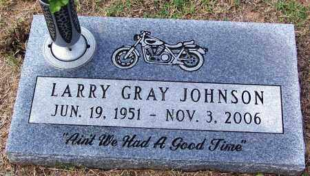 JOHNSON, LARRY GRAY - Madison County, Tennessee | LARRY GRAY JOHNSON - Tennessee Gravestone Photos