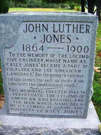 "JONES, JOHN LUTHER ""CASEY"" - Madison County, Tennessee | JOHN LUTHER ""CASEY"" JONES - Tennessee Gravestone Photos"
