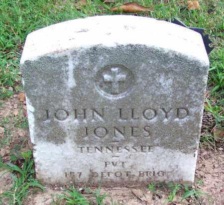 JONES, JOHN LLOYD - Madison County, Tennessee   JOHN LLOYD JONES - Tennessee Gravestone Photos