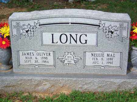 LONG, NELLIE MAE - Madison County, Tennessee | NELLIE MAE LONG - Tennessee Gravestone Photos