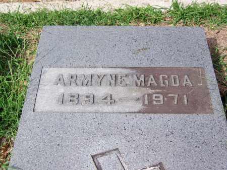 MAGDA, ARMYNE - Madison County, Tennessee | ARMYNE MAGDA - Tennessee Gravestone Photos