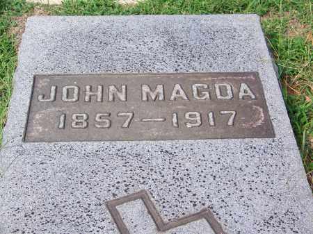 MAGDA, JOHN - Madison County, Tennessee   JOHN MAGDA - Tennessee Gravestone Photos