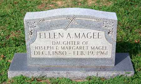 MAGEE, ELLEN A - Madison County, Tennessee | ELLEN A MAGEE - Tennessee Gravestone Photos