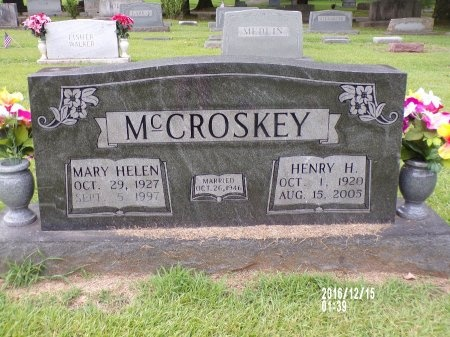 MCCROSKEY, HENRY H - Madison County, Tennessee | HENRY H MCCROSKEY - Tennessee Gravestone Photos