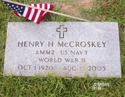 MCCROSKEY (VETERAN WWII), HENRY H  - Madison County, Tennessee | HENRY H  MCCROSKEY (VETERAN WWII) - Tennessee Gravestone Photos