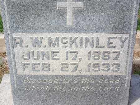 MCKINLEY, R W - Madison County, Tennessee   R W MCKINLEY - Tennessee Gravestone Photos