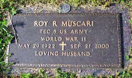 MUSCARI (VETERAN WWII), ROY R - Madison County, Tennessee | ROY R MUSCARI (VETERAN WWII) - Tennessee Gravestone Photos