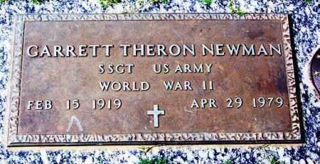 NEWMAN (VETERAN WWII), GARRETT THERON - Madison County, Tennessee | GARRETT THERON NEWMAN (VETERAN WWII) - Tennessee Gravestone Photos