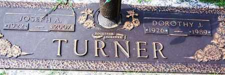 TURNER, DOROTHY J - Madison County, Tennessee | DOROTHY J TURNER - Tennessee Gravestone Photos