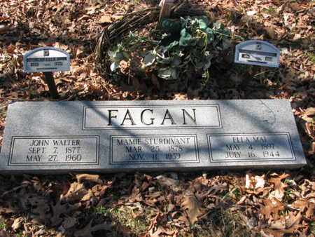 STURDIVANT FAGAN, MAMIE - Marshall County, Tennessee   MAMIE STURDIVANT FAGAN - Tennessee Gravestone Photos