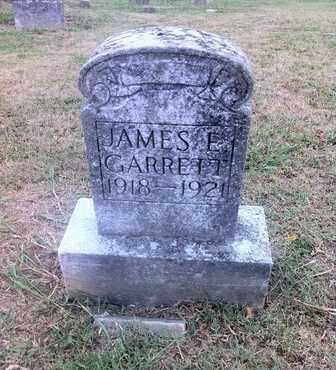 GARRETT, JAMES E. - Marshall County, Tennessee | JAMES E. GARRETT - Tennessee Gravestone Photos