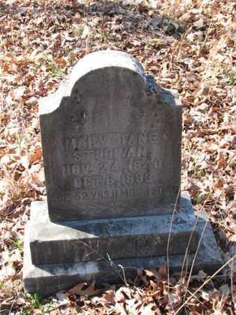 STUDIVAN, MARY JANE - Marshall County, Tennessee | MARY JANE STUDIVAN - Tennessee Gravestone Photos