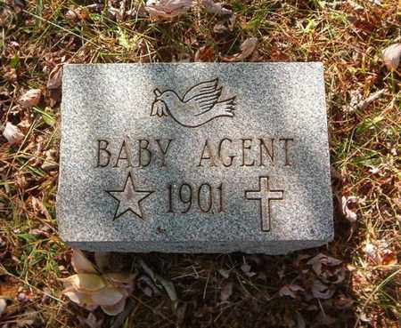 AGENT, BABY - Maury County, Tennessee | BABY AGENT - Tennessee Gravestone Photos