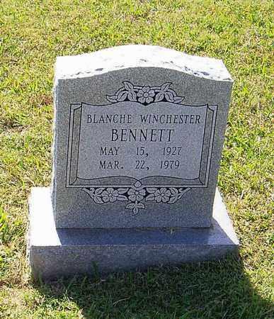 WINCHESTER BENNETT, BLANCHE - Maury County, Tennessee | BLANCHE WINCHESTER BENNETT - Tennessee Gravestone Photos