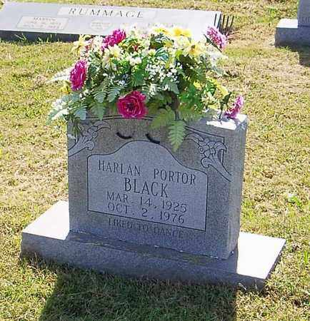 BLACK, HARLAN PORTOR - Maury County, Tennessee | HARLAN PORTOR BLACK - Tennessee Gravestone Photos