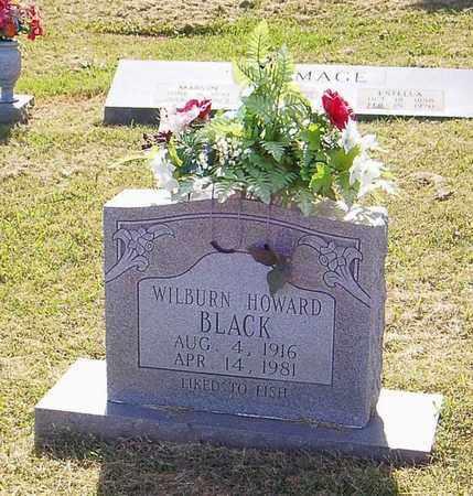BLACK, WILBURN HOWARD - Maury County, Tennessee | WILBURN HOWARD BLACK - Tennessee Gravestone Photos