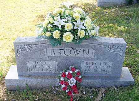 BROWN, RUBY LEE - Maury County, Tennessee | RUBY LEE BROWN - Tennessee Gravestone Photos