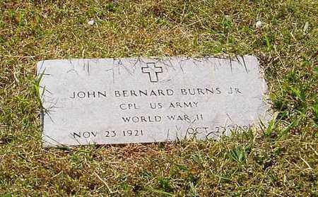 BURNS, JR (VETERAN WWII), JOHN BERNARD - Maury County, Tennessee | JOHN BERNARD BURNS, JR (VETERAN WWII) - Tennessee Gravestone Photos