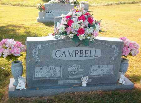 CAMPBELL, ILA J. - Maury County, Tennessee | ILA J. CAMPBELL - Tennessee Gravestone Photos