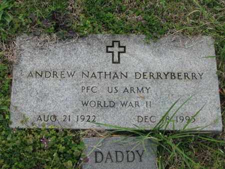DERRYBERRY (VETERAN WWII), ANDREW NATHAN - Maury County, Tennessee | ANDREW NATHAN DERRYBERRY (VETERAN WWII) - Tennessee Gravestone Photos