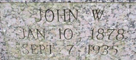 BARTLEY, JOHN W. - McNairy County, Tennessee | JOHN W. BARTLEY - Tennessee Gravestone Photos