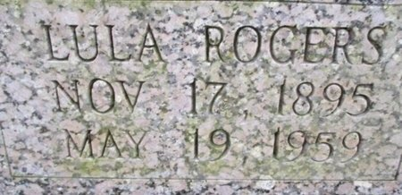 ROGERS BARTLEY, LULA - McNairy County, Tennessee | LULA ROGERS BARTLEY - Tennessee Gravestone Photos