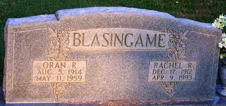 BLASINGAME, ORAN R - McNairy County, Tennessee | ORAN R BLASINGAME - Tennessee Gravestone Photos