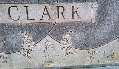 CLARK, WILLIAM C. - McNairy County, Tennessee | WILLIAM C. CLARK - Tennessee Gravestone Photos
