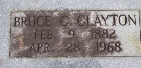 CLAYTON, BRUCE C. - McNairy County, Tennessee | BRUCE C. CLAYTON - Tennessee Gravestone Photos